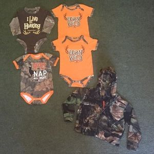 3-6 Month Baby Camo